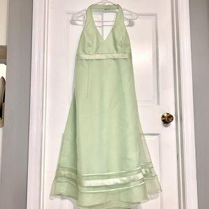 Mint/Lime David's Bridal Bridesmaid Dress Size 10